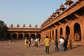 People Around The Fatehpur Sikri
