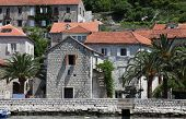 PERAST, MONTENEGRO - JUNE, 08: Mediterranean house, on June 08, 2012 in Perast, Montenegro