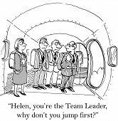 Team Leader, Change, Courage