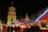 Christmas Market In Kyiv