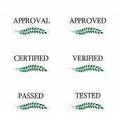 Approval Seals Laurel
