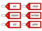 Bio Tags 1 Red