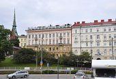 HELSINKI-AUGUST 23:Historic Building from Helsinki in Finland