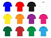 Tee Shirts In Different Colours