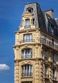 Typical Haussmannian building, Paris, France