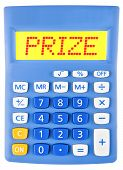 Calculator With Prize