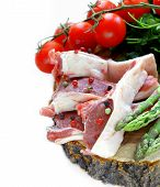 foto of lamb chops  - raw meat - JPG