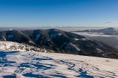 Sunny Morning In Winter Mountains - Greater Fatra, Slovakia