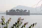 Jal Mahal In A Foggy Day