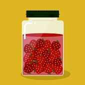 Pickled Strawberry