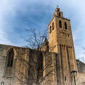 Sant Cugat Del Valles Monastery (barcelona, Catalonia)