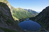 Mi?guszowickie Great Peaks In The Polish Tatra Mountains On The Lake