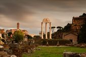 Temple At The Forum Romanum