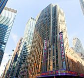 NEW YORK CITY - MAY 29: Radio City Music Hall at Rockefeller Center