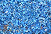 Background Of Painted Wood Chips