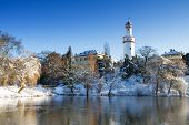 Castle Bad Homburg In The Winter