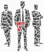 Head Hunter Or Human Resources Concept.