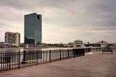Toledo Ohio City Skyline