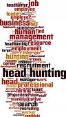 Head Hunting Word Cloud