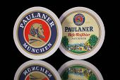 Beermats From Paulaner Beer.