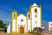 Church of Our Lady of the Light (Nossa Senhora da Luz) in Luz, Algarve, Portugal.
