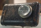Old Rusty Flashlight