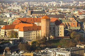 image of stanislaus church  - Royal Archcathedral Basilica of Saints Stanislaus and Wenceslaus on the Wawel Hill in Krakow - JPG