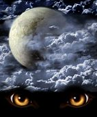 stock photo of werewolf hunter  - Dark series  - JPG