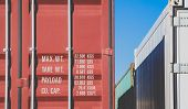 picture of container ship  - Container shipping on container track at dockyard - JPG