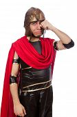picture of sob  - Gladiator isolated on white - JPG
