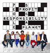 picture of responsibility  - Social Responsibility Reliability Dependability Ethics Concept - JPG