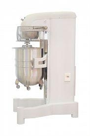 stock photo of bakeshop  - Dough mixer in bakery - JPG
