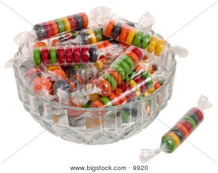 Bowl Of Candy poster