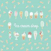 Постер, плакат: Ice cream