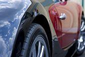 Постер, плакат: Вид сбоку Bugatti Veyron