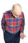 Senior Citizen With Drugs