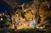 foto of nativity scene  - Close up of Christ - JPG