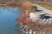 Stormwater Management System Perforated Concrete Pipe