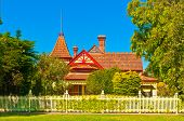 Turretted Victorian Mansion in Rural Australia