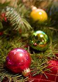 Christmas Ornaments With Douglas Fir