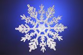 Pretty Christmas Snowflake