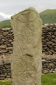 Ancient Celtic Tombstone poster