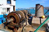 Capstan Winch Of Trawlerfishing Boa
