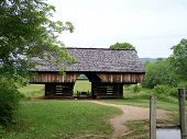 Historic Barn Cades Cove Great Smoky Mountains