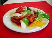 stock photo of chinese food  - sweet and sour chinese food - JPG