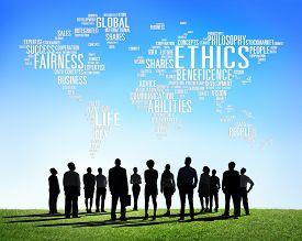 picture of moral  - Ethics Ideals Principles Morals Standards Concept - JPG