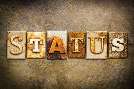 image of status  - The word  - JPG