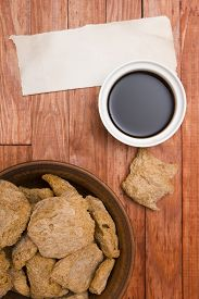 picture of soy sauce  - Food ingredients made from soy  - JPG
