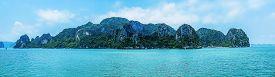 foto of southeast  - Panorama of Halong Bay Vietnam Southeast Asia - JPG