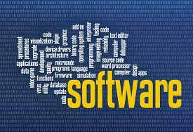 image of zero  - software word cloud on zero one binary background  - JPG